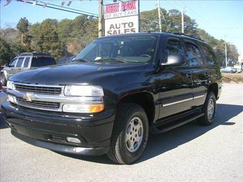 2005 Chevrolet Tahoe for sale at Deer Park Auto Sales Corp in Newport News VA