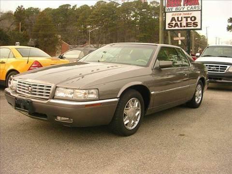 1999 Cadillac Eldorado for sale at Deer Park Auto Sales Corp in Newport News VA