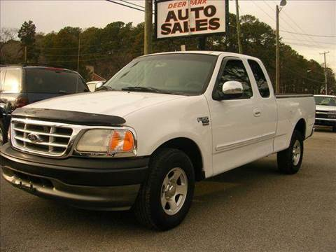2000 Ford F-150 for sale at Deer Park Auto Sales Corp in Newport News VA
