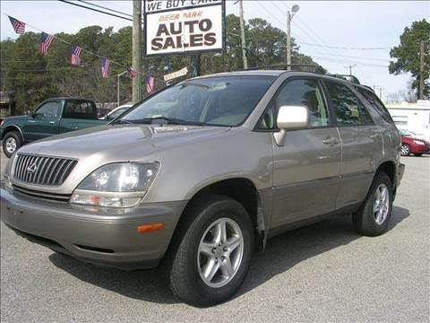 1999 Lexus RX 300 for sale at Deer Park Auto Sales Corp in Newport News VA