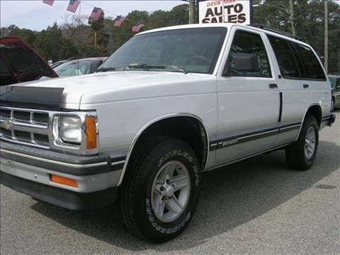 1994 Chevrolet Blazer for sale at Deer Park Auto Sales Corp in Newport News VA