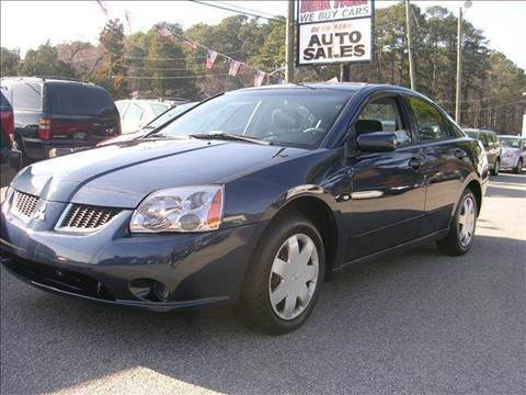 2004 Mitsubishi Galant for sale at Deer Park Auto Sales Corp in Newport News VA