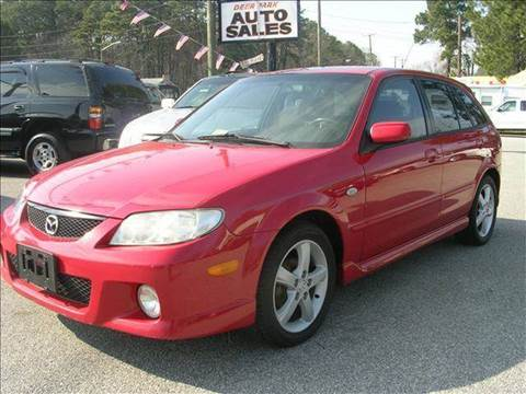 2003 Mazda Protege5 for sale at Deer Park Auto Sales Corp in Newport News VA