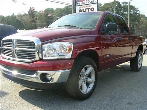 2008 Dodge Ram Pickup 1500 for sale at Deer Park Auto Sales Corp in Newport News VA