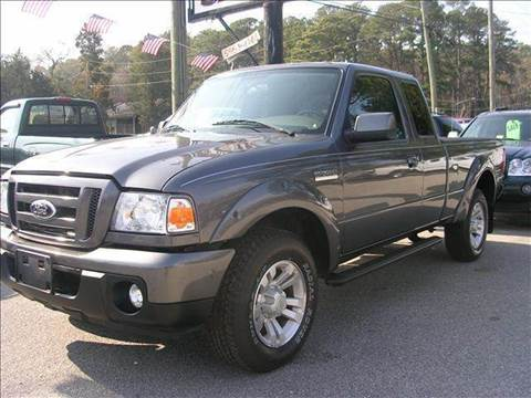 2008 Ford Ranger for sale at Deer Park Auto Sales Corp in Newport News VA