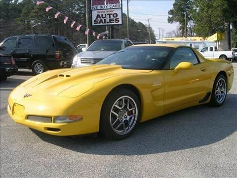 2001 Chevrolet Corvette for sale at Deer Park Auto Sales Corp in Newport News VA