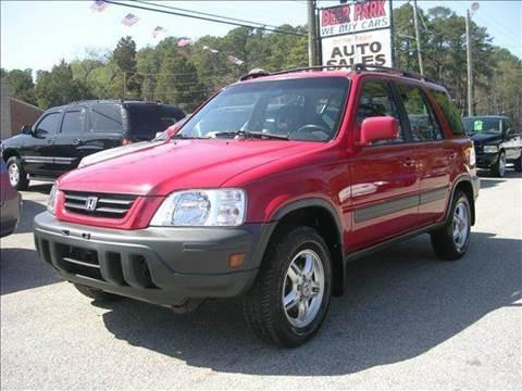 1999 Honda CR-V for sale at Deer Park Auto Sales Corp in Newport News VA