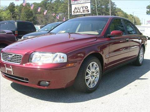 2005 Volvo S80 for sale at Deer Park Auto Sales Corp in Newport News VA
