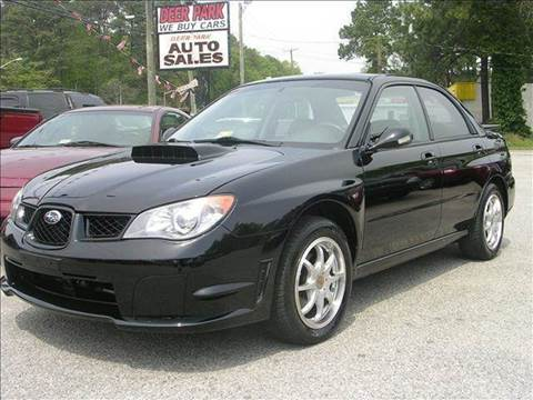 2006 Subaru Impreza for sale at Deer Park Auto Sales Corp in Newport News VA