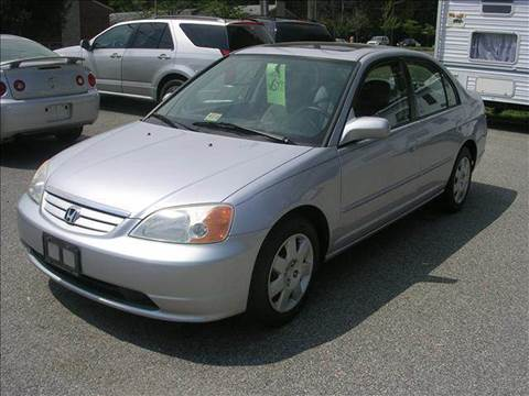 2002 Honda Civic for sale at Deer Park Auto Sales Corp in Newport News VA