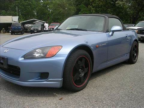 2003 Honda S2000 for sale at Deer Park Auto Sales Corp in Newport News VA