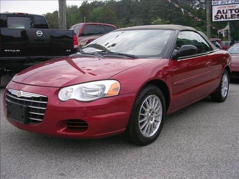 2004 Chrysler Sebring for sale at Deer Park Auto Sales Corp in Newport News VA