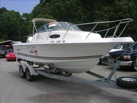 2003 Wellcraft Coastal 220 for sale at Deer Park Auto Sales Corp in Newport News VA