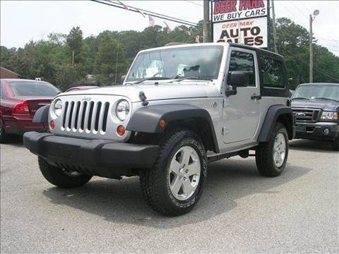 2008 Jeep Wrangler for sale at Deer Park Auto Sales Corp in Newport News VA
