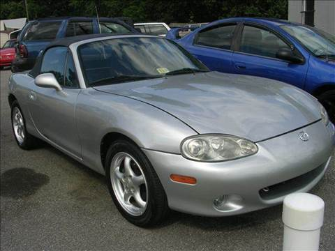 2001 Mazda MX-5 Miata for sale at Deer Park Auto Sales Corp in Newport News VA