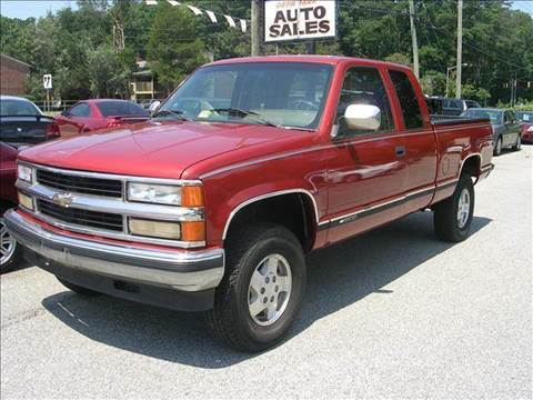 1994 Chevrolet C/K 1500 Series for sale at Deer Park Auto Sales Corp in Newport News VA