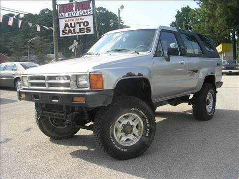 1987 Toyota 4Runner for sale at Deer Park Auto Sales Corp in Newport News VA