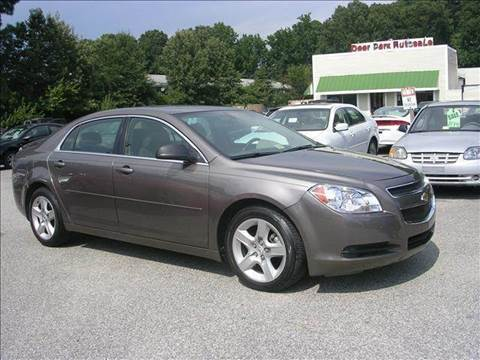 2010 Chevrolet Malibu for sale at Deer Park Auto Sales Corp in Newport News VA