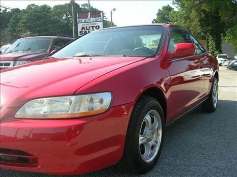 1999 Honda Accord for sale at Deer Park Auto Sales Corp in Newport News VA