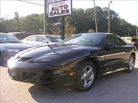 2001 Pontiac Firebird for sale at Deer Park Auto Sales Corp in Newport News VA