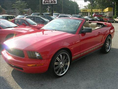 2005 Ford Mustang for sale at Deer Park Auto Sales Corp in Newport News VA