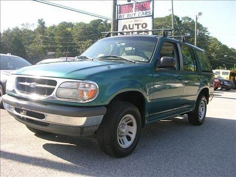 1998 Ford Explorer for sale at Deer Park Auto Sales Corp in Newport News VA