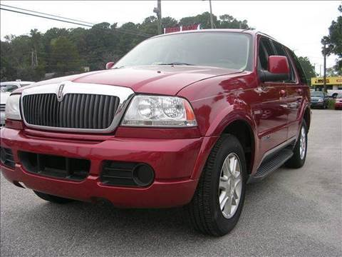2004 Lincoln Aviator for sale at Deer Park Auto Sales Corp in Newport News VA