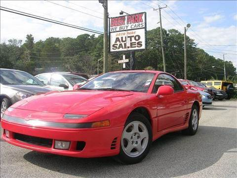1992 Mitsubishi 3000GT for sale at Deer Park Auto Sales Corp in Newport News VA