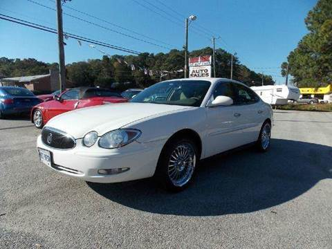 2006 Buick LaCrosse for sale at Deer Park Auto Sales Corp in Newport News VA