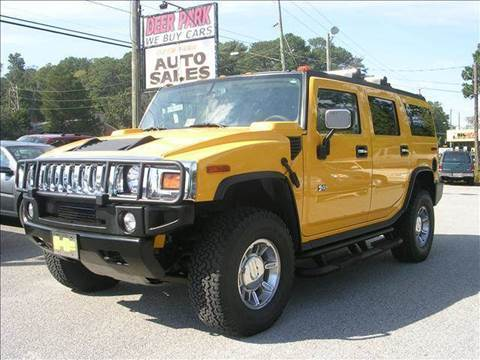 2004 HUMMER H2 for sale at Deer Park Auto Sales Corp in Newport News VA