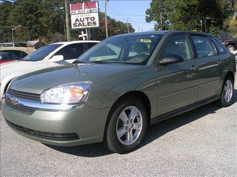 2004 Chevrolet Malibu Maxx for sale at Deer Park Auto Sales Corp in Newport News VA