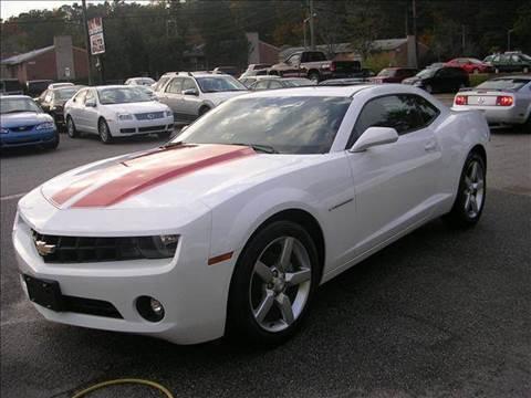 2011 Chevrolet Camaro for sale at Deer Park Auto Sales Corp in Newport News VA