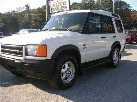2000 Land Rover Discovery Series II for sale at Deer Park Auto Sales Corp in Newport News VA