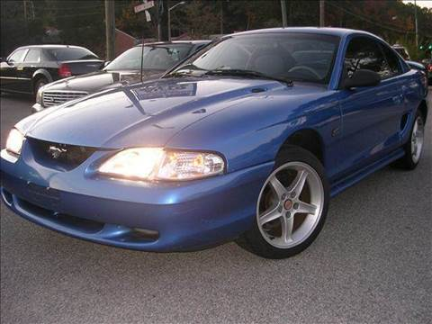 1995 Ford Mustang for sale at Deer Park Auto Sales Corp in Newport News VA