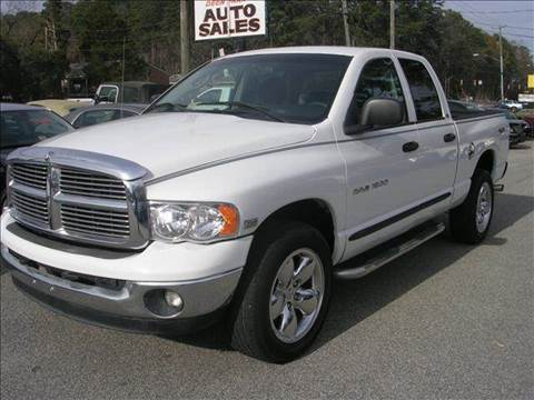 2005 Dodge Ram Pickup 1500 for sale at Deer Park Auto Sales Corp in Newport News VA