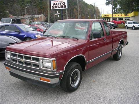 1993 Chevrolet S-10 for sale at Deer Park Auto Sales Corp in Newport News VA