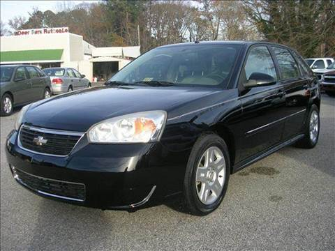 2006 Chevrolet Malibu Maxx for sale at Deer Park Auto Sales Corp in Newport News VA