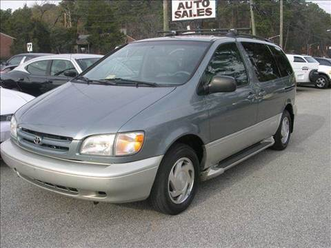 2000 Toyota Sienna for sale at Deer Park Auto Sales Corp in Newport News VA