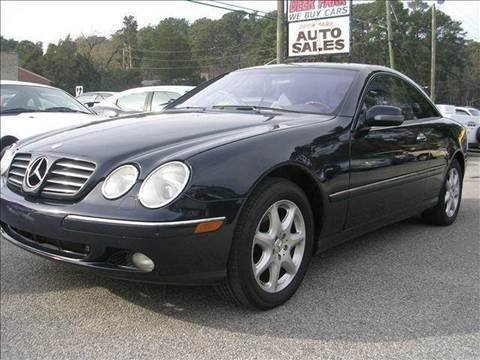 2001 Mercedes-Benz CL-Class for sale at Deer Park Auto Sales Corp in Newport News VA