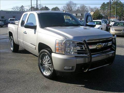 2008 Chevrolet Silverado 1500 for sale at Deer Park Auto Sales Corp in Newport News VA