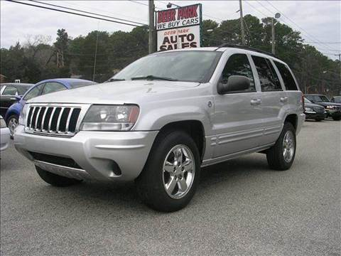2004 Jeep Grand Cherokee for sale at Deer Park Auto Sales Corp in Newport News VA
