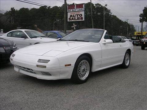 1991 Mazda RX-7 for sale at Deer Park Auto Sales Corp in Newport News VA