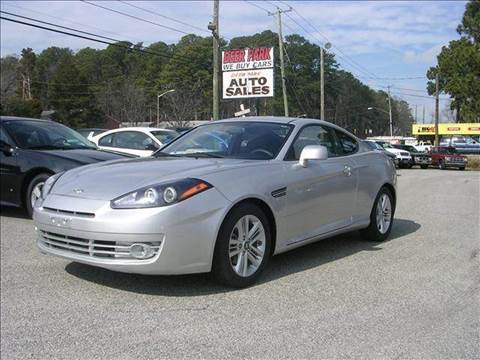 2008 Hyundai Tiburon for sale at Deer Park Auto Sales Corp in Newport News VA