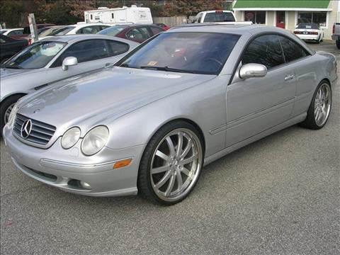 2002 Mercedes-Benz CL-Class for sale at Deer Park Auto Sales Corp in Newport News VA