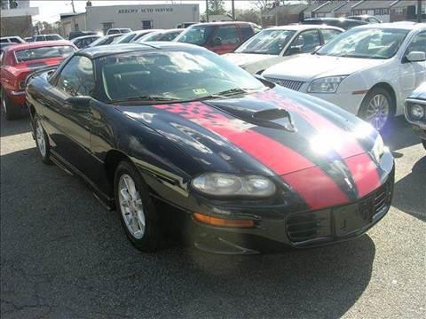 2002 Chevrolet Camaro for sale at Deer Park Auto Sales Corp in Newport News VA
