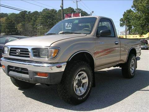 1995 Toyota Tacoma for sale at Deer Park Auto Sales Corp in Newport News VA
