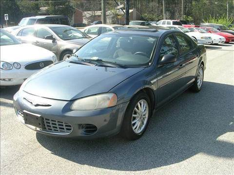 2002 Chrysler Sebring for sale at Deer Park Auto Sales Corp in Newport News VA