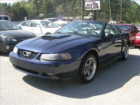 2002 Ford Mustang for sale at Deer Park Auto Sales Corp in Newport News VA