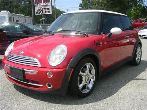 2004 MINI Cooper for sale at Deer Park Auto Sales Corp in Newport News VA