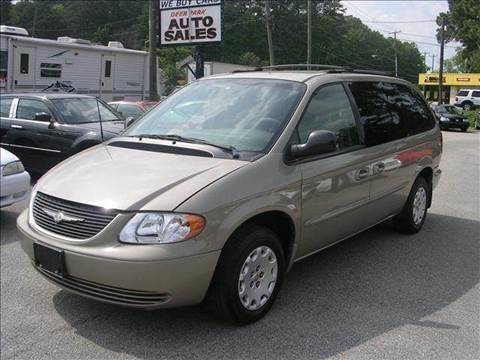 2002 Chrysler Town and Country for sale at Deer Park Auto Sales Corp in Newport News VA
